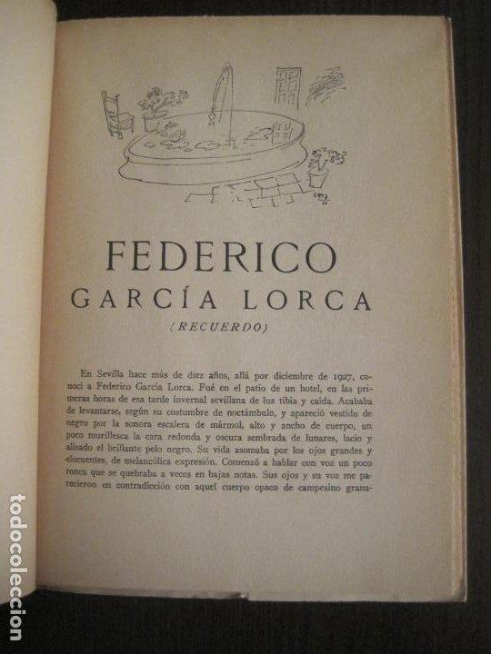 Coleccionismo Papel Varios: GUERRA CIVIL-HORA DE ESPAÑA-JUNIO 1938-REVISTA XVIII-ANTONIO MACHADO,CERNUDA...-VER FOTOS-(V-19.548) - Foto 8 - 201324091
