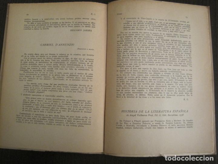 Coleccionismo Papel Varios: GUERRA CIVIL-HORA DE ESPAÑA-JUNIO 1938-REVISTA XVIII-ANTONIO MACHADO,CERNUDA...-VER FOTOS-(V-19.548) - Foto 12 - 201324091