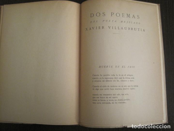 Coleccionismo Papel Varios: GUERRA CIVIL-HORA DE ESPAÑA-JUNIO 1938-REVISTA XVIII-ANTONIO MACHADO,CERNUDA...-VER FOTOS-(V-19.548) - Foto 13 - 201324091