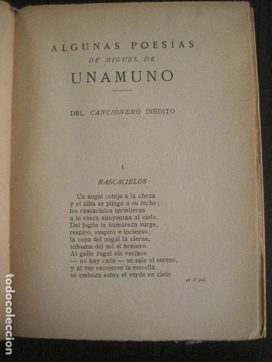 Coleccionismo Papel Varios: GUERRA CIVIL-HORA DE ESPAÑA-JULIO 1938-REVISTA XIX-ANTONIO MACHADO, UNAMUNO...-VER FOTOS-(V-19.549) - Foto 8 - 201324685