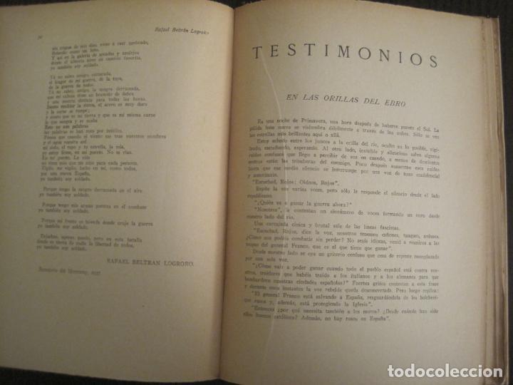 Coleccionismo Papel Varios: GUERRA CIVIL-HORA DE ESPAÑA-JULIO 1938-REVISTA XIX-ANTONIO MACHADO, UNAMUNO...-VER FOTOS-(V-19.549) - Foto 14 - 201324685