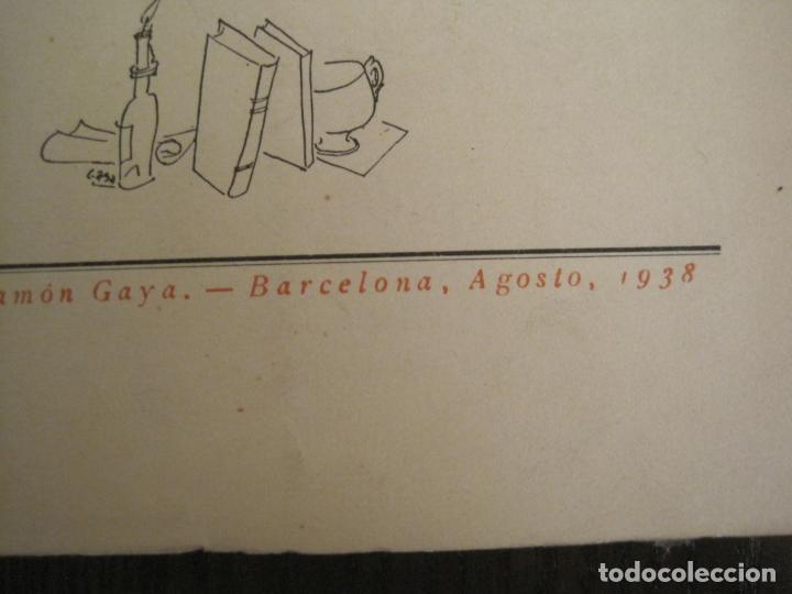 Coleccionismo Papel Varios: GUERRA CIVIL-HORA DE ESPAÑA-AGOSTO 1938-REVISTA XX-ANTONIO MACHADO, ZAMBRANO...-VER FOTOS-(V-19.550) - Foto 4 - 201325257
