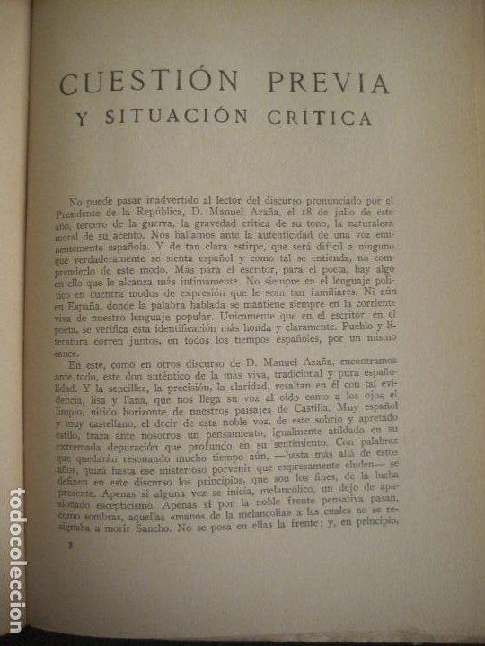 Coleccionismo Papel Varios: GUERRA CIVIL-HORA DE ESPAÑA-AGOSTO 1938-REVISTA XX-ANTONIO MACHADO, ZAMBRANO...-VER FOTOS-(V-19.550) - Foto 10 - 201325257