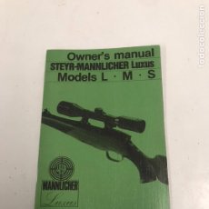 Coleccionismo Papel Varios: MANUAL DE RIFLE. Lote 201541010