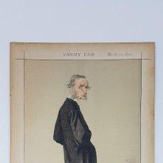 Coleccionismo Papel Varios: VANITY FAIR 1872 ( IMPRESO SOBRE CARTON ) MEN OF THE DAY. Lote 201763147