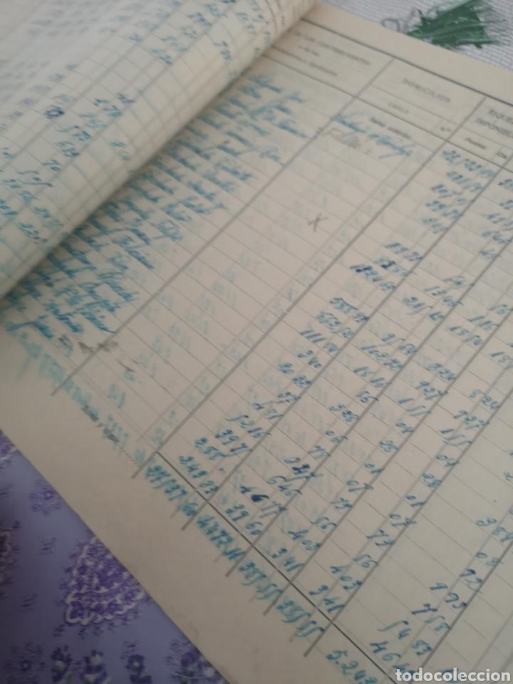 Coleccionismo Papel Varios: Lista cobratoria 1935 Santiago de Carbajo Cáceres. - Foto 2 - 201843557