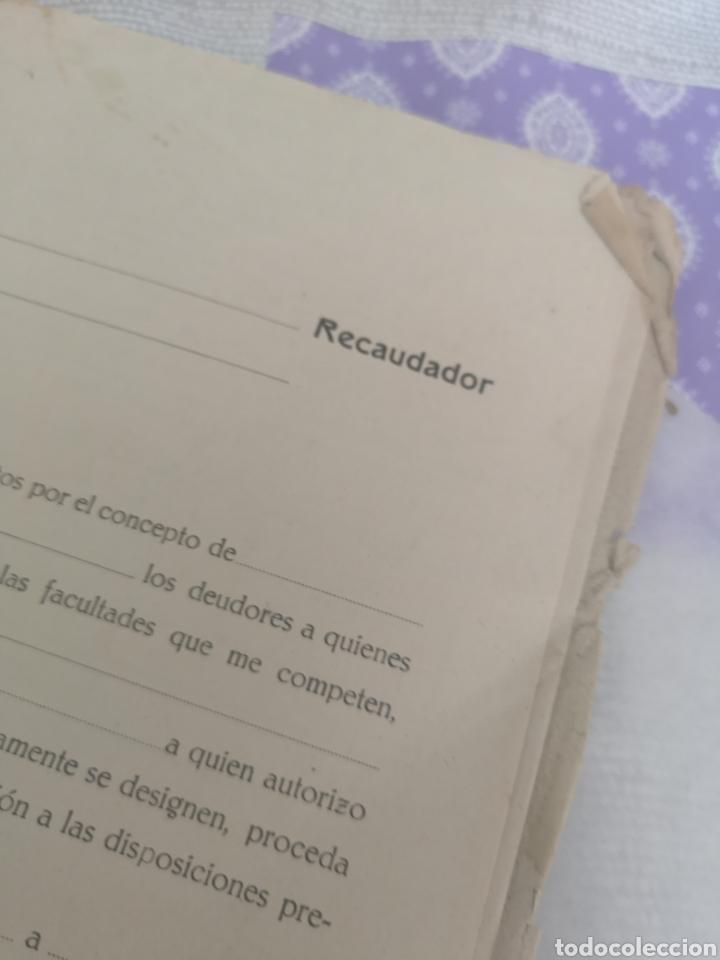 Coleccionismo Papel Varios: Carpeta Con 25 documentos recaudador años 30 - Foto 2 - 201899445