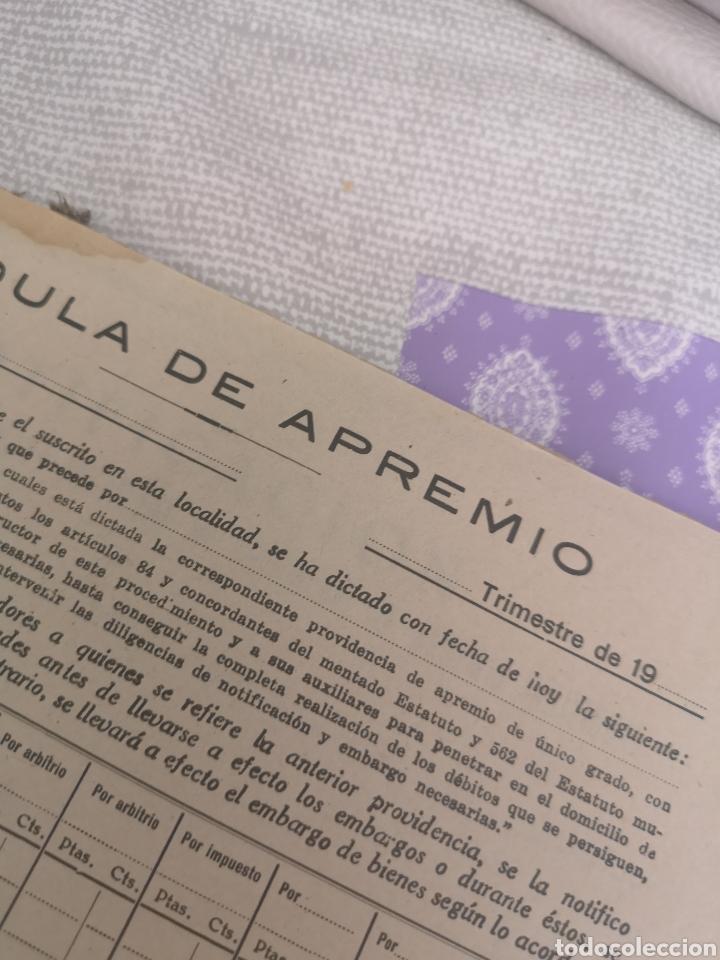 Coleccionismo Papel Varios: Carpeta Con 25 documentos recaudador años 30 - Foto 3 - 201899445