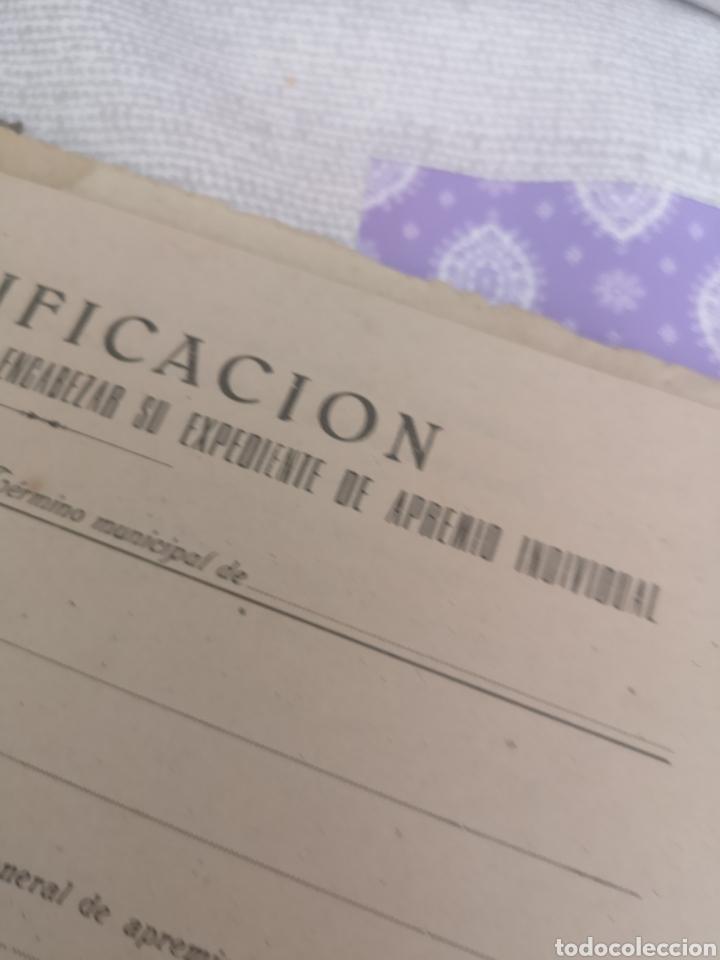 Coleccionismo Papel Varios: Carpeta Con 25 documentos recaudador años 30 - Foto 4 - 201899445