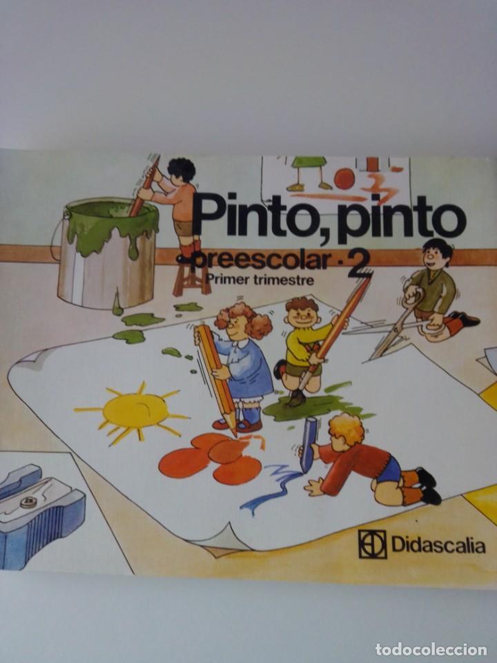 PINTO PINTO PREESCOLAR 2 PRIMER TRIMESTRE (Coleccionismo en Papel - Varios)