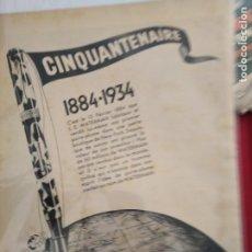 Coleccionismo Papel Varios: QUINQUANTENAIRE WATERMAN 1884 1934 26 POR 36. Lote 203230565
