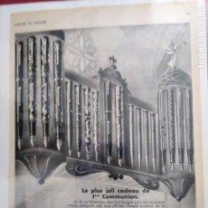 Coleccionismo Papel Varios: PUBLICIDAD PLUMAS WATERMAN 24 POR 34. Lote 203235962