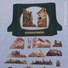 Coleccionismo Papel Varios: DIORAMA BARSAL Nº 5 - ESCENA DE GUERRA - COMPLETO. Lote 203320588