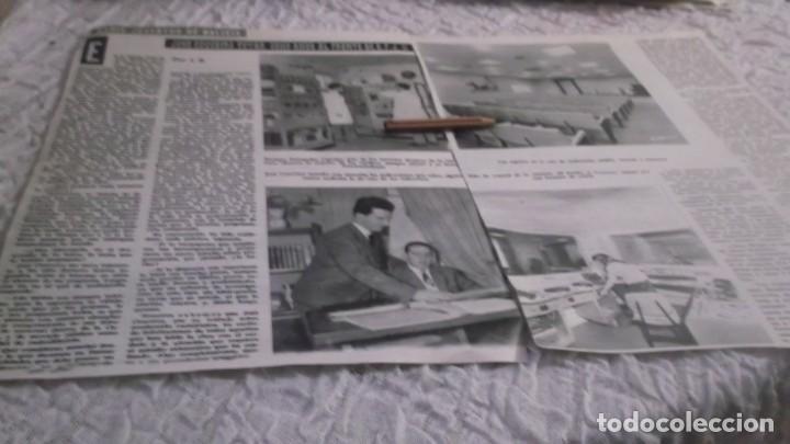 RECORTE AÑOS 60 - GALICIA.RADIO JUVENTUD DE GALICIA ,JOSÉ COUCEIRO TOVAR 8 AÑOS A FRENTE DE E.F.J.11 (Coleccionismo en Papel - Varios)