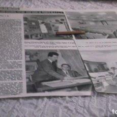 Coleccionismo Papel Varios: RECORTE AÑOS 60 - GALICIA.RADIO JUVENTUD DE GALICIA ,JOSÉ COUCEIRO TOVAR 8 AÑOS A FRENTE DE E.F.J.11. Lote 204459858