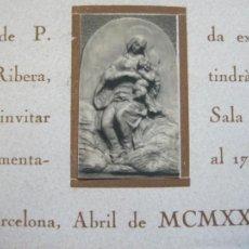 Coleccionismo Papel Varios: BARCELONA-ABRIL 1926-FRANCES DE P.CARULLA-TARJETA PUBLICIDAD-(70.272). Lote 204808746