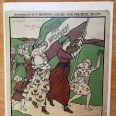 Coleccionismo Papel Varios: THE MARCH OF THE WOMEN. ETHEL SMYTH. TARJETA ILUSTRADA.. Lote 205283172