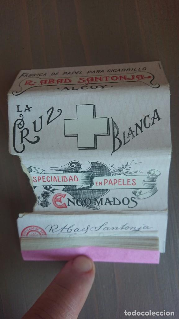 PAPEL DE FUMAR LA CRUZ BLANCA (Coleccionismo en Papel - Varios)