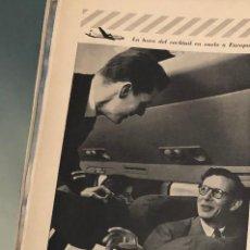 Coleccionismo Papel Varios: PUBLICIDAD DE PRENSA DE LÍNEAS AÉREAS KLM. ORIGINAL AÑO 1954. 14 X 35 CM. BUEN ESTADO.. Lote 206287140