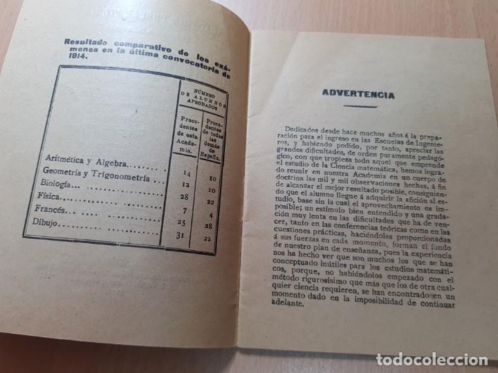 Coleccionismo Papel Varios: ACADEMIA ESCUELA INGENIEROS AGRONOMOS OTEYZA BARINAGA Y DE LA LOMA AGRICULTURA MADRID 1914 - Foto 4 - 206326533