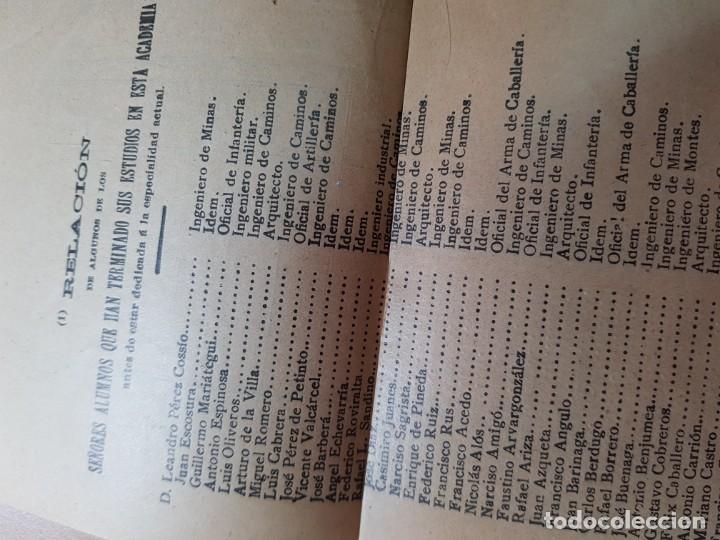 Coleccionismo Papel Varios: ACADEMIA ESCUELA INGENIEROS AGRONOMOS OTEYZA BARINAGA Y DE LA LOMA AGRICULTURA MADRID 1914 - Foto 7 - 206326533