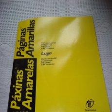 Coleccionismo Papel Varios: GUÍA PÁGINAS AMARILLAS 95-96.LUGO. TELEFÓNICA. Lote 206824786