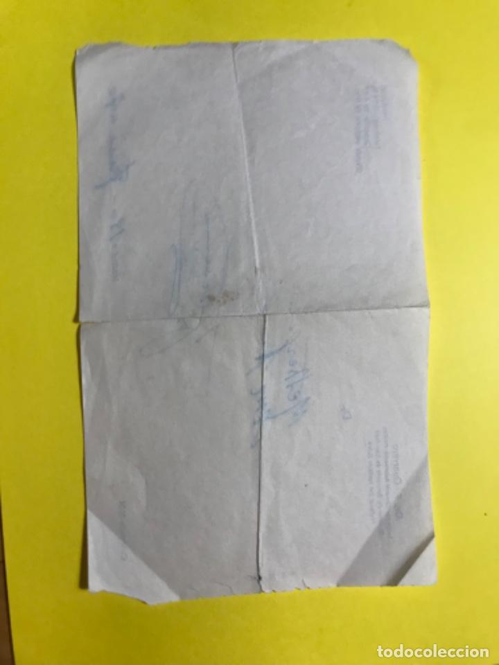 Coleccionismo Papel Varios: Antigua receta prescripcion medica doctor f guerrero 1970 sanatorio san jose instituto Rubio - Foto 2 - 206841825