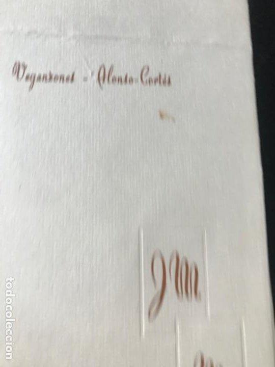 Coleccionismo Papel Varios: menu diptico Hotel carlton Madrid enlace boda 1969 21x8,1 - Foto 2 - 206842781