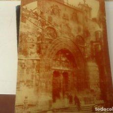 Coleccionismo Papel Varios: MENU MESON DE LA VILLA NAVIDAD AÑO 88, PARA LOS JEFES DEL MELIA CASTILLA. Lote 206929811