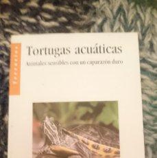Coleccionismo Papel Varios: FOLLETO INFORMATIVO DE COMIDA PARA TORTUGAS ACUATICAS DOMESTICAS - ED. TETRA. Lote 207137453