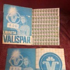 Coleccionismo Papel Varios: LIBRETA VALISPAR. Lote 207139982