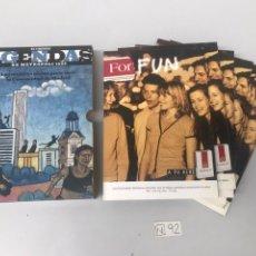 Coleccionismo Papel Varios: AGENDAS - METRÓPOLI 1999. Lote 207614942