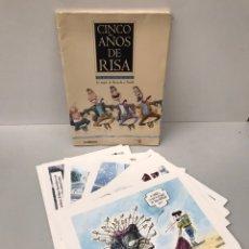 Coleccionismo Papel Varios: CINCO AÑOS DE RISA. Lote 207634523