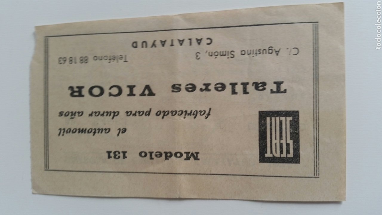 Coleccionismo Papel Varios: Calatayud tómbola de Caritas 1975 sorteo sea 133 - Foto 2 - 207821383