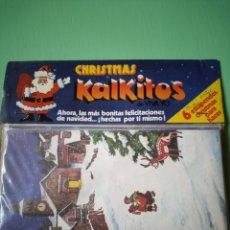 Coleccionismo Papel Varios: CHRISTMAS KALKITOS 6 UNIDADES PRECINTADO. Lote 208418450