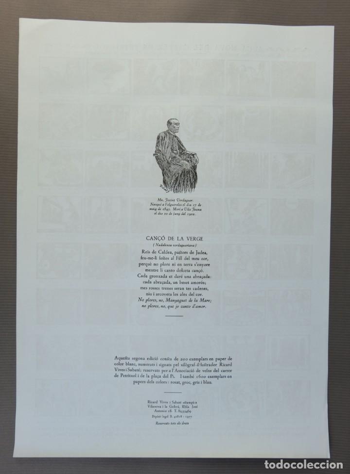 Coleccionismo Papel Varios: Auca nova del Carrer de Petritxoll-segunda edición de Ricard Vives i Sabaté 1977 - Foto 2 - 208588256