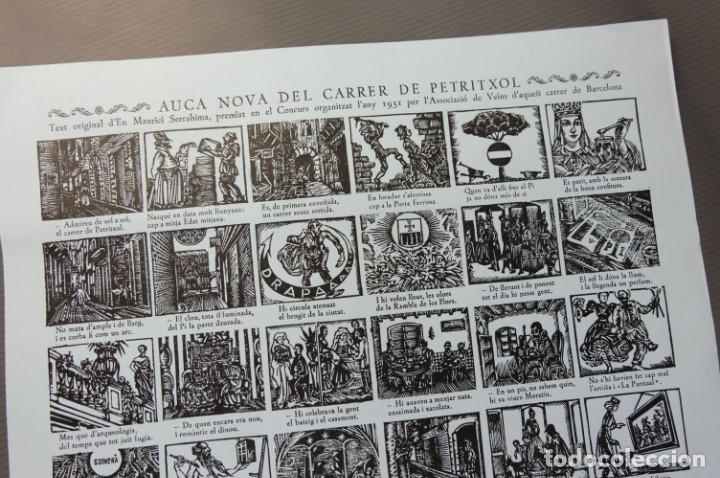 Coleccionismo Papel Varios: Auca nova del Carrer de Petritxoll-segunda edición de Ricard Vives i Sabaté 1977 - Foto 3 - 208588256