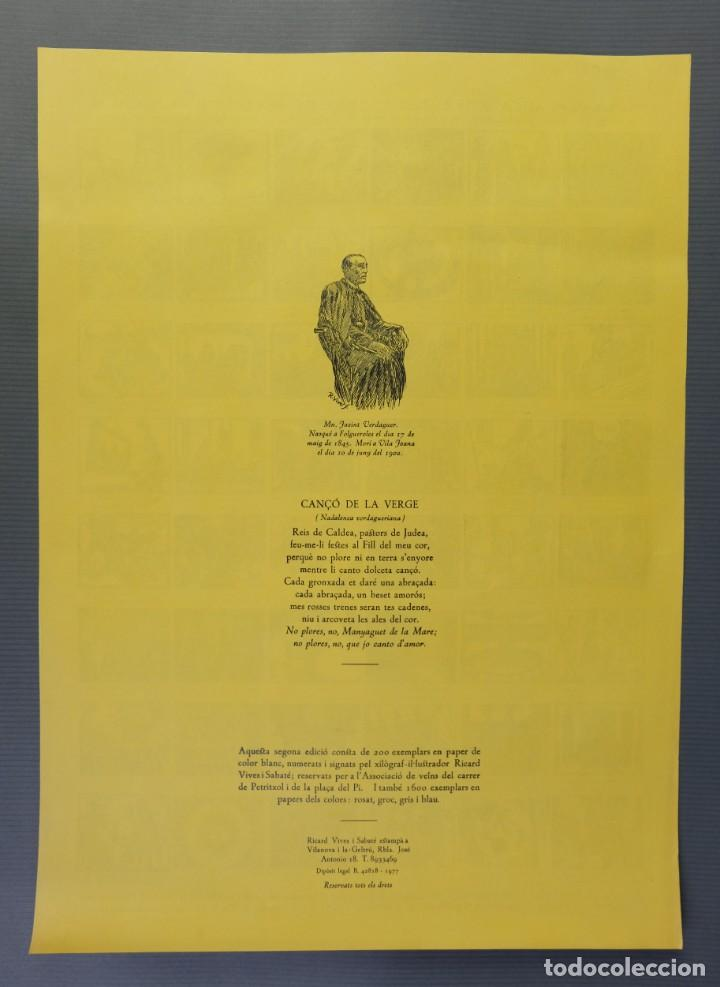 Coleccionismo Papel Varios: Auca nova del Carrer de Petritxoll-segunda edición de Ricard Vives i Sabaté 1977 - Foto 2 - 208588261