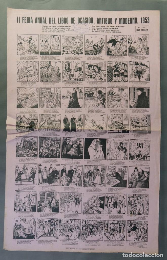 AUCA FERIA ANUAL DEL LIBRO DE OCASIÓN, ANTIGUO Y MODERNO 1953 (Coleccionismo en Papel - Varios)