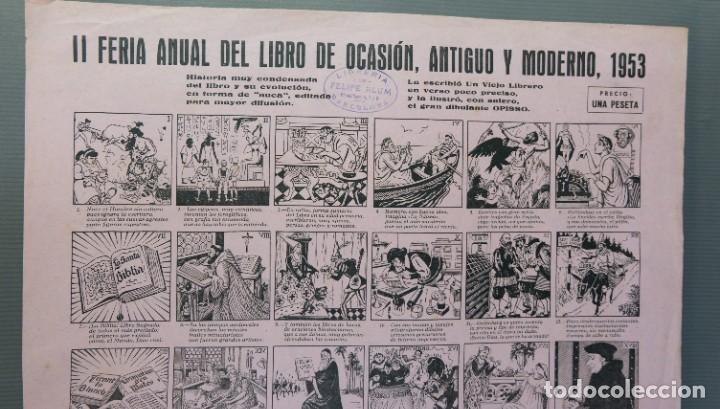 Coleccionismo Papel Varios: Auca Feria anual del libro de Ocasión, antiguo y moderno 1953 - Foto 2 - 208588271