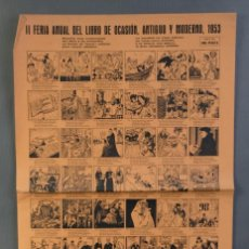 Coleccionismo Papel Varios: AUCA FERIA ANUAL DEL LIBRO DE OCASIÓN, ANTIGUO Y MODERNO 1953. Lote 208589442