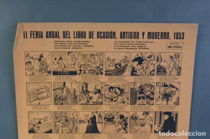 Coleccionismo Papel Varios: Auca Feria anual del libro de Ocasión, antiguo y moderno 1953 - Foto 2 - 208589442