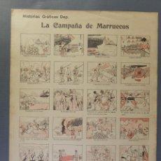 Coleccionismo Papel Varios: AUCA LA CAMPAÑA DE MARRUECOS-EDITORIAL DEP. BARCELONA. Lote 208589542