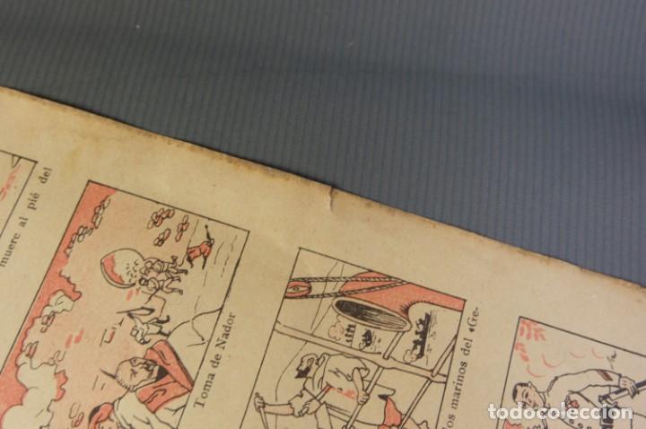 Coleccionismo Papel Varios: Auca La Campaña de Marruecos-Editorial Dep. Barcelona - Foto 4 - 208589542