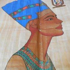 Coleccionismo Papel Varios: PAPIRO CON CERTIFICADO.41 X 30. Lote 209101410