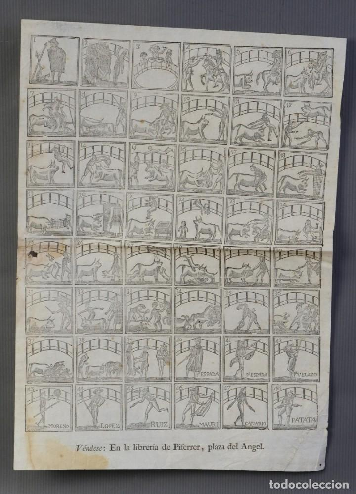 AUCA TEMÁTICA TAURINA-LIBRERIA PIFERRER, SIGLO XIX (Coleccionismo en Papel - Varios)