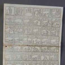 Coleccionismo Papel Varios: AUCA TEMÁTICA TAURINA-LIBRERIA PIFERRER, SIGLO XIX. Lote 209971016