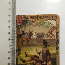 Coleccionismo Papel Varios: D. CASIMIRO CASCANUECES. CUENTOS BONITOS. SERIE IX. TOMO 180. S. CALLEJA. EDITOR.. Lote 209973605