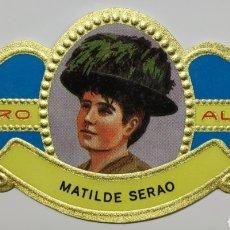 Coleccionismo Papel Varios: VITOLA ALVARO, MUJERES FAMOSAS EN LAS LETRAS, NOVELA, MATILDE SERAO, ITALIANA. Lote 210612193