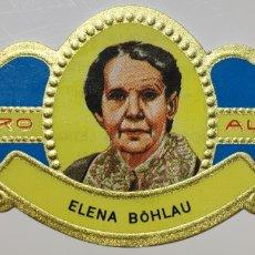 Coleccionismo Papel Varios: VITOLA ALVARO, MUJERES FAMOSAS EN LAS LETRAS, NOVELA, ELENA BOHLAU, ALEMANA. Lote 210612377